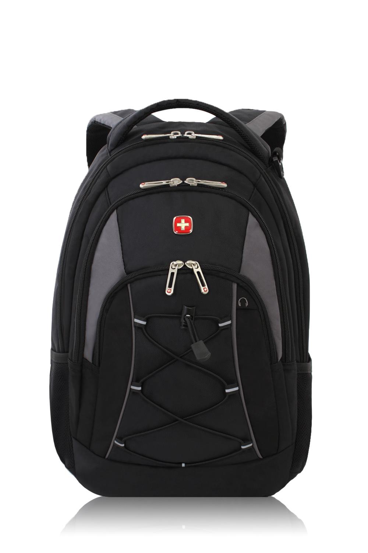 SWISSGEAR 1186 Backpack - Black/Gray