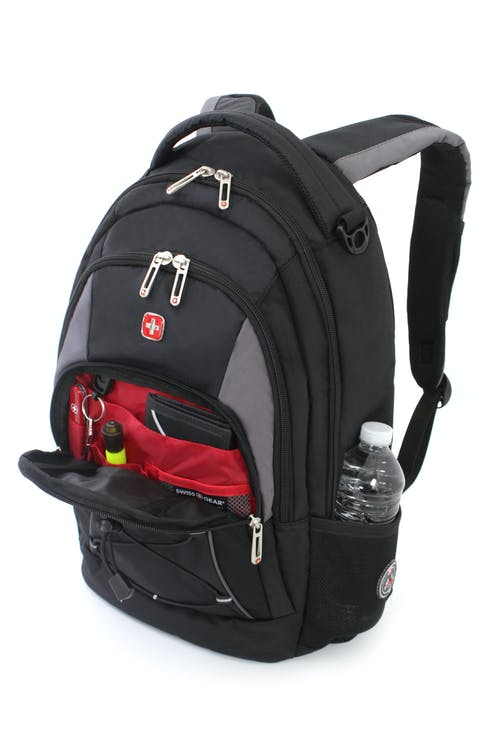 SWISSGEAR 1186 BACKPACK SIDE WATER BOTTLE POCKETS