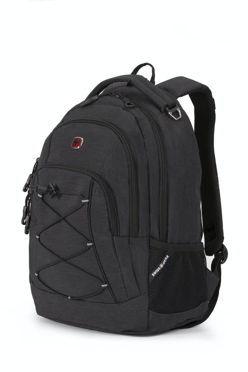 03d4659782 Swissgear 1186 Laptop Backpack - Ripstop Gray Heather Black Cod - Special  Edition