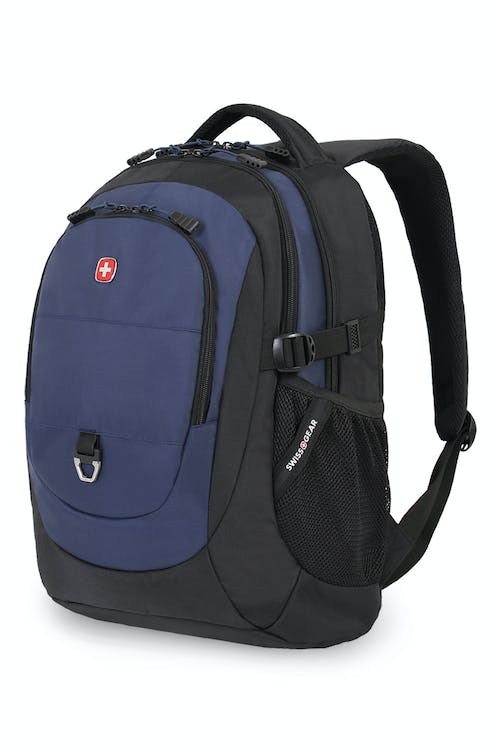 SWISSGEAR 1190 LAPTOP BACKPACK - BLACK/NAVY