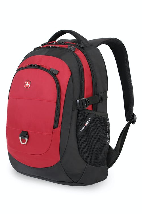 SWISSGEAR 1190 LAPTOP BACKPACK - BLACK/RED
