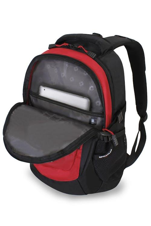 SWISSGEAR 1190 Laptop Backpack - Black/Red