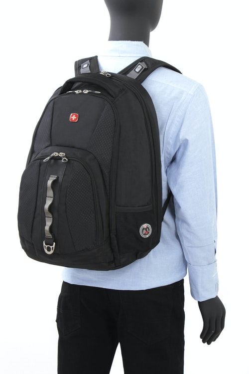 SWISSGEAR 1271 SCANSMART LAPTOP BACKPACK WITH PADDED, AIRFLOW BACK PANEL