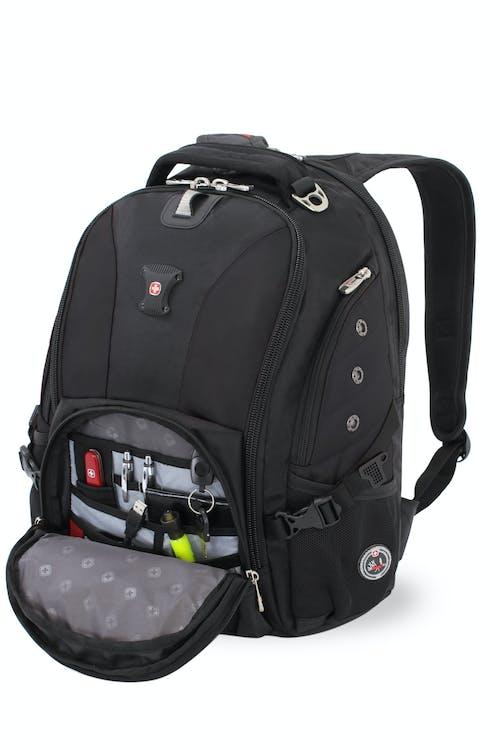 SWISSGEAR 1592 Deluxe Laptop Backpack - Multiple Internal Accessory Pockets