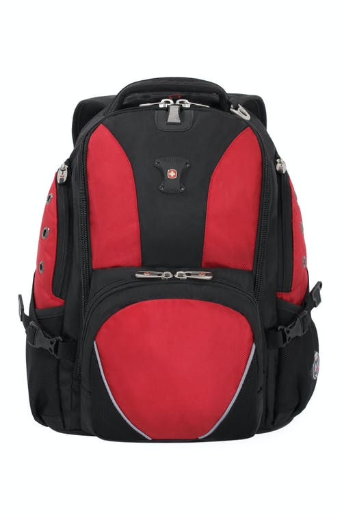 SWISSGEAR 1592 Deluxe Laptop Backpack - Black/Red