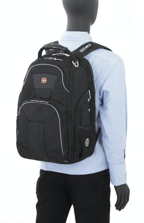 SWISSGEAR 1696 SCANSMART LAPTOP BACKPACK PADDED SHOULDER STRAPS