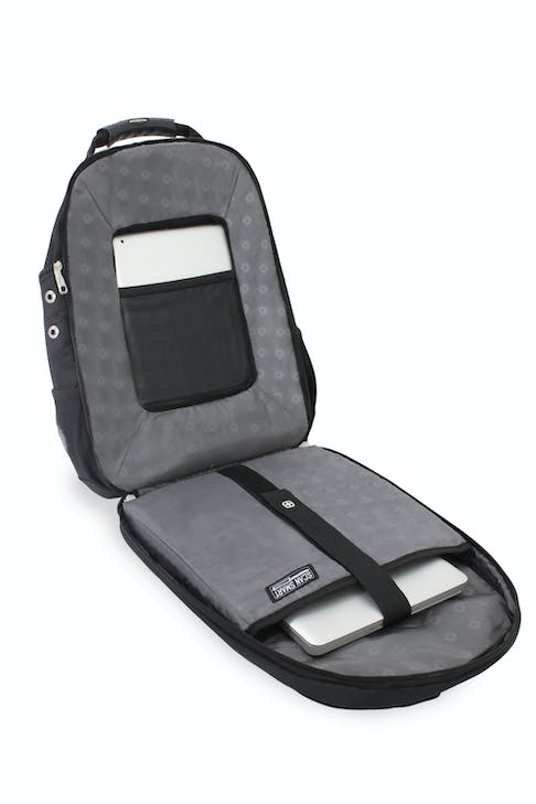 SWISSGEAR 1696 SCANSMART LAPTOP BACKPACK FLOATING TABLETSAFE TABLET POCKET
