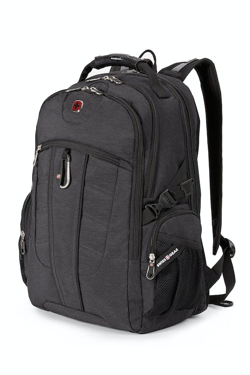 SWISSGEAR 1753 ScanSmart TSA Laptop Backpack - Ripstop Grey Heather