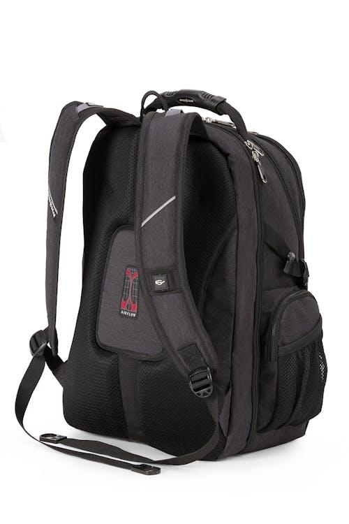 Swissgear 1753 ScanSmart TSA Laptop Backpack  Ergonomically contoured, padded shoulder straps
