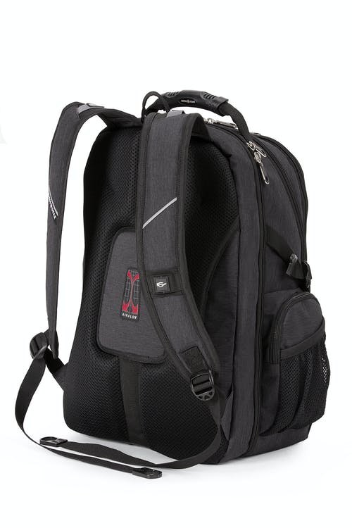 Swissgear 1753 ScanSmart Laptop Backpack - Ergonomically contoured, padded shoulder straps