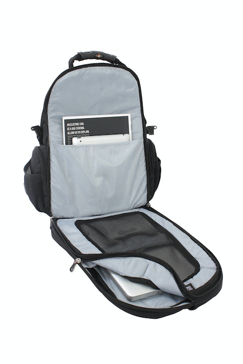 SWISSGEAR 1753 SCANSMART LAPTOP BACKPACK LAPTOP-ONLY COMPUTER COMPARTMENT