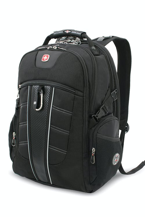 SWISSGEAR 1753 SCANSMART LAPTOP BACKPACK - BLACK