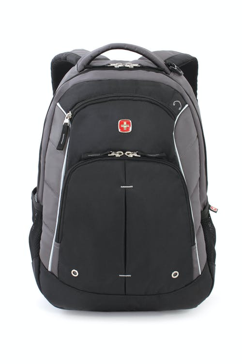 SWISSGEAR 1758 BACKPACK PADDED, TOP HANDLE WITH D-RING BUCKLE