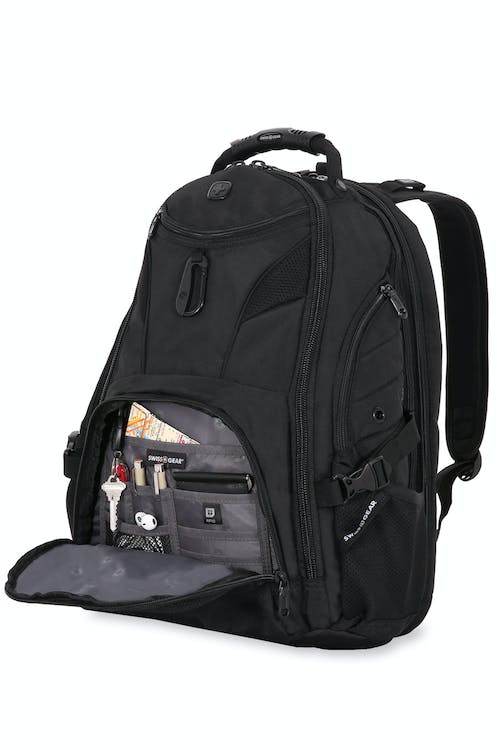 76beaee4821fd6 Swissgear 1900 ScanSmart Laptop Backpack Multiple internal accessory pockets