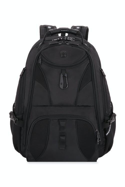 25e695762a77ef Swissgear 1900 ScanSmart Laptop Backpack Quick-access front zippered pocket