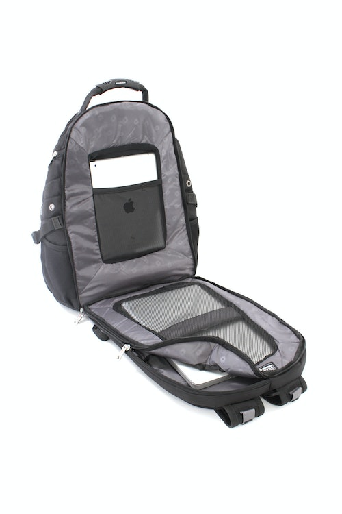 SWISSGEAR 1900 SCANSMART LAPTOP BACKPACK SCANSMART LAY-FLAT TECHNOLOGY