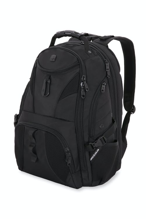 Swissgear 1900 ScanSmart Laptop Backpack - Sleathe Black