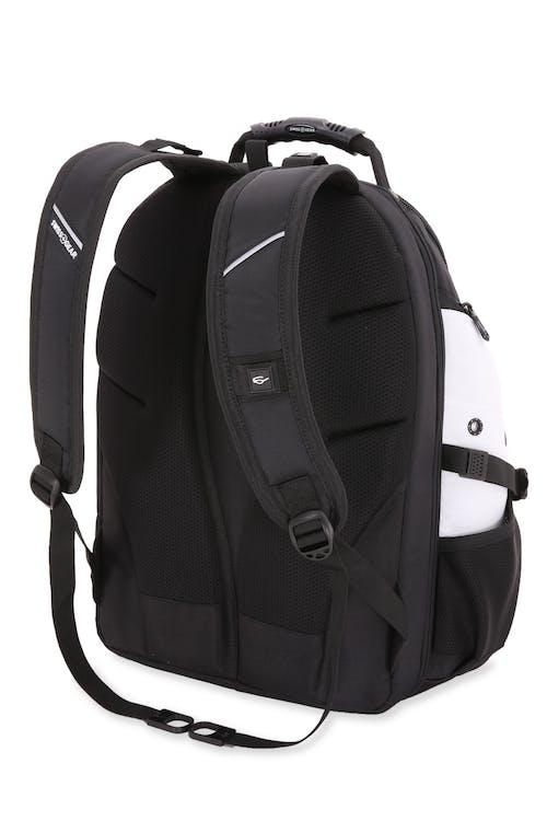 Swissgear 1900 Black Series ScanSmart Backpack  Ergonomically contoured, padded shoulder straps
