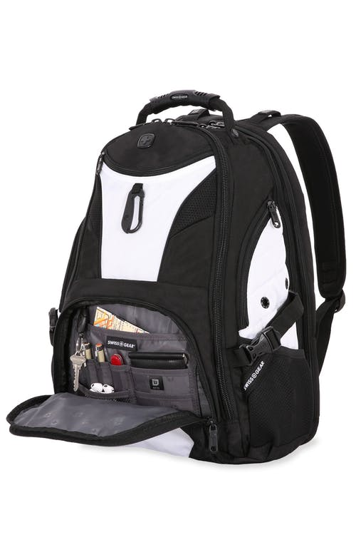 SWISSGEAR 1900 Scansmart Backpack RFID-protected organizer compartment
