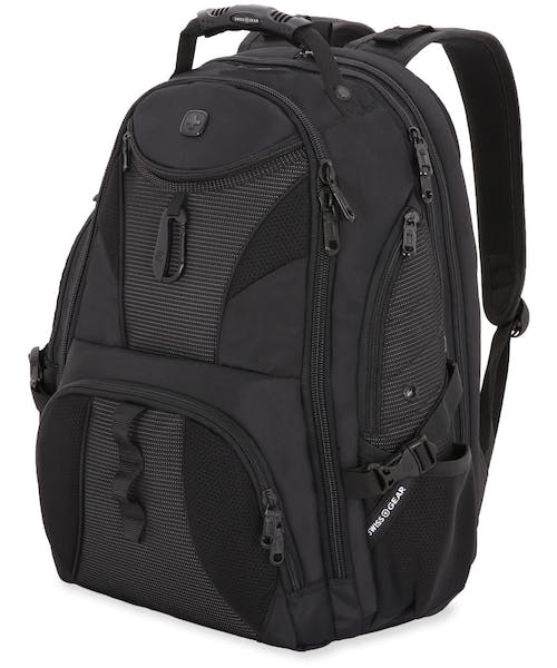 SWISSGEAR 1900 SCANSMART TSA LAPTOP BACKPACK - Black w/ White Dots