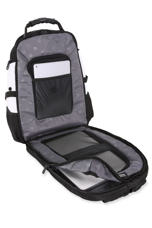 SWISSGEAR 1900 Scansmart Backpack ScanSmart™ lay-flat technology