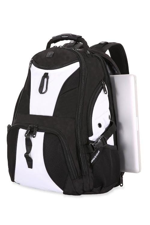 Swissgear 1900 Black Series ScanSmart Backpack  Protective floating TabletSafe™ tablet pocket
