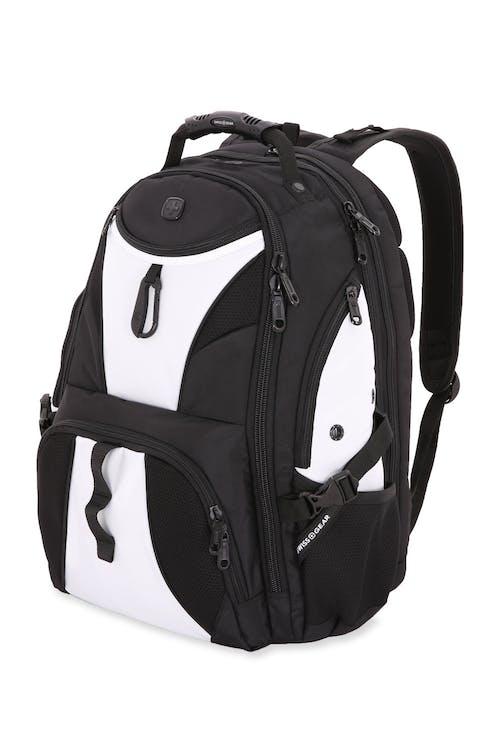 SWISSGEAR 1900 Black Series Scansmart Backpack - Black/White