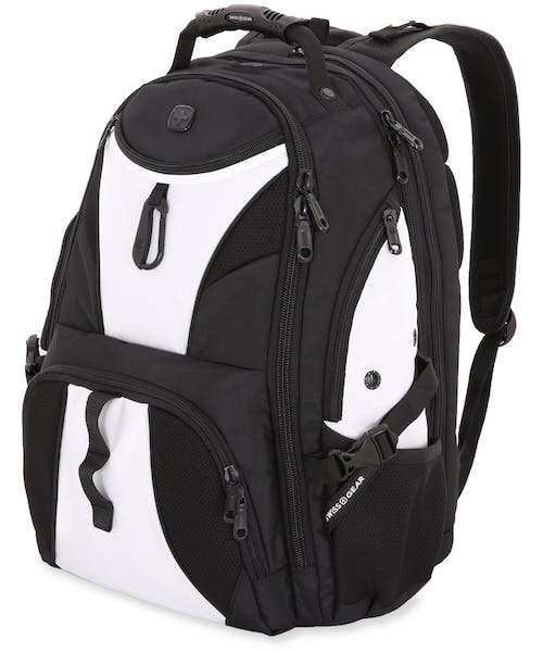 SWISSGEAR 1900 SCANSMART TSA LAPTOP BACKPACK - Black/White