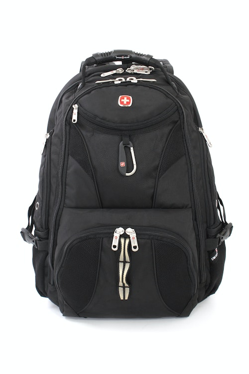 SWISSGEAR 1900 SCANSMART LAPTOP BACKPACK QUICK-ACCESS FRONT ZIPPERED POCKET