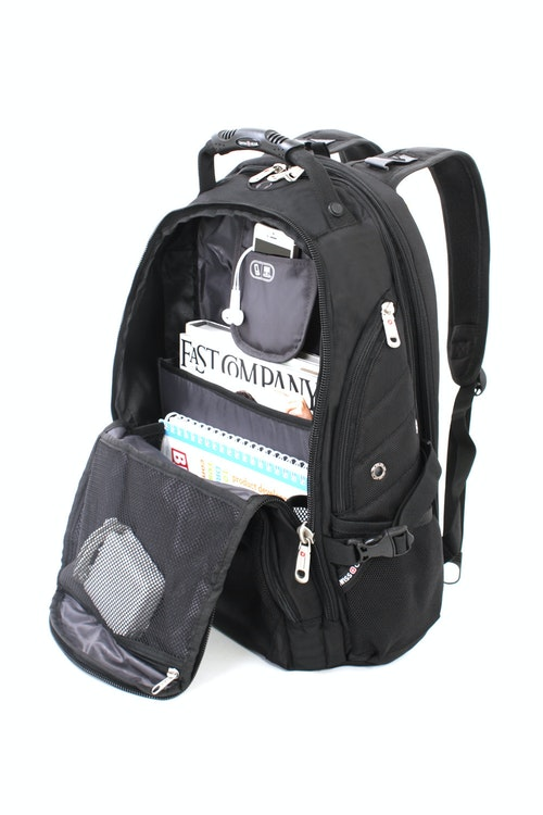 SWISSGEAR 1900 SCANSMART LAPTOP BACKPACK ACCORDION FILE HOLDER