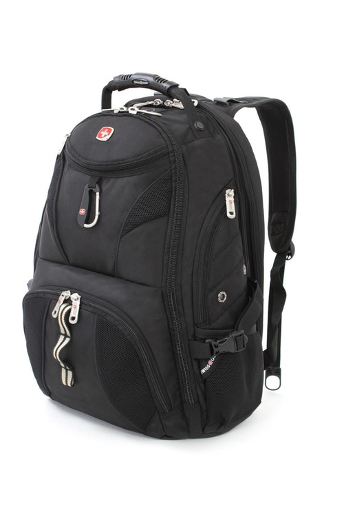 SWISSGEAR 1900 SCANSMART LAPTOP BACKPACK - BLACK