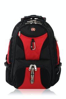 Swissgear 1900 ScanSmart TSA Laptop Backpack - Black/Red