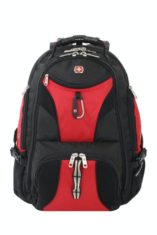 Swissgear 1900 ScanSmart Laptop Backpack  Easy-access front zippered pocket for readily available essentials