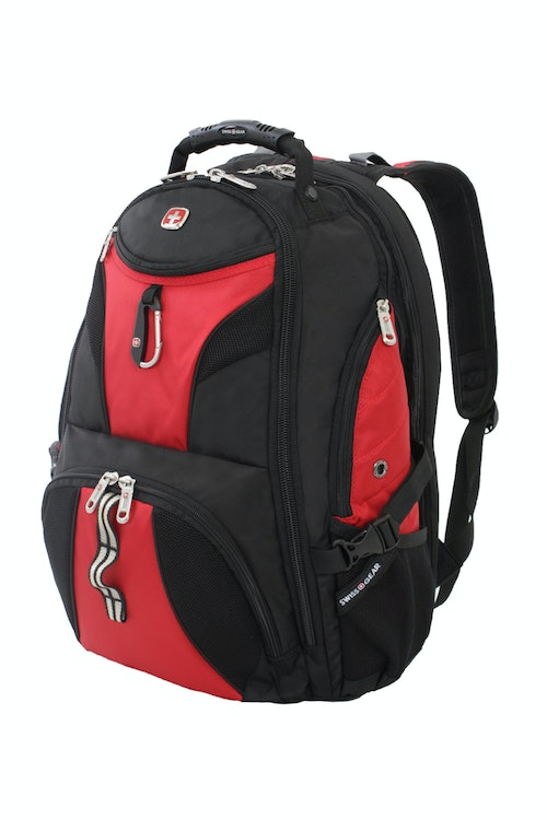 SWISSGEAR 1900 SCANSMART LAPTOP BACKPACK - RED