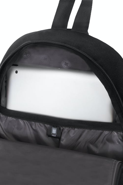 SWISSGEAR 2310 MINI SLING LARGE-CAPACITY MAIN COMPARTMENT WITH TABLETSAFE TABLET POCKET