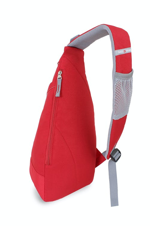 SWISSGEAR TRIANGLE SLING BAG - REAR SIDE-ZIPPERED COMPARTMENT