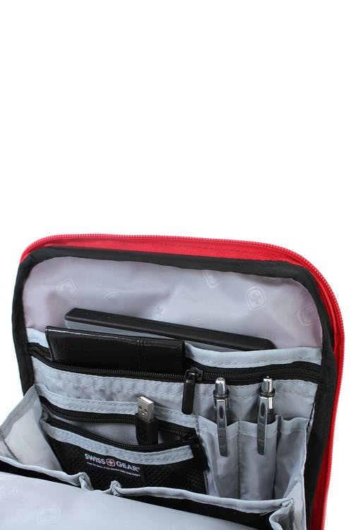 SWISSGEAR 2310 VERTICAL BOARDING BAG LARGE ORGANIZER COMPARTMENT