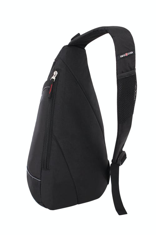 SWISSGEAR 2321 TRIANGLE SLING BAG  PADDED SHOULDER STRAP WITH BREATHABLE MESH FABRIC