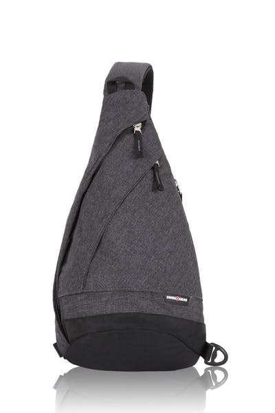 Swissgear 2613 Heather Monosling - Gray Heather/Black