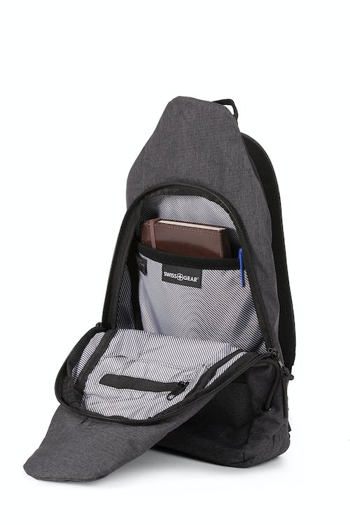Swissgear Sling Backpack Spacious main compartment