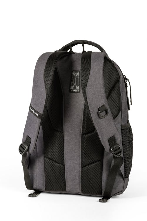 SWISSGEAR 2731 Laptop Backpack contoured, padded shoulder straps