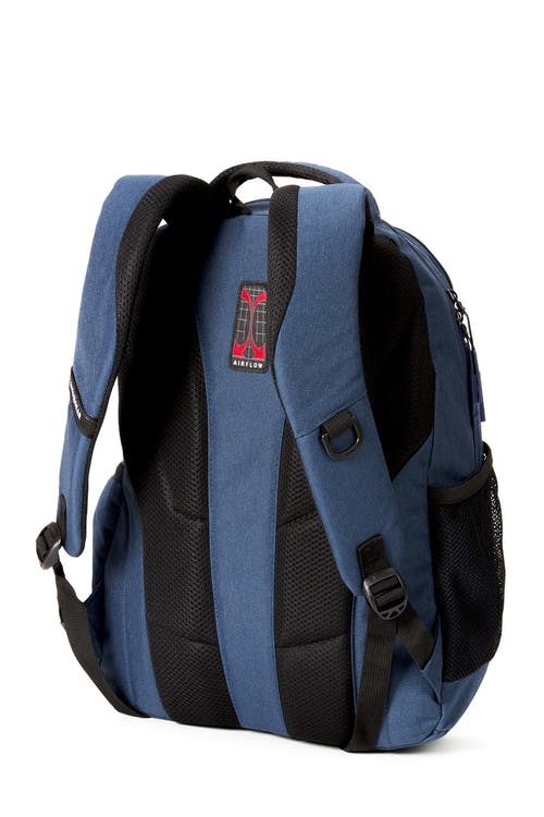 Swissgear 2731 Laptop Backpack contoured, padded shoulder straps