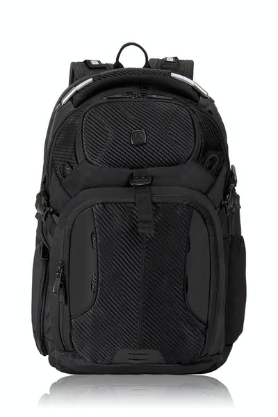 SWISSGEAR 2700 USB Scansmart Deluxe Backpack with LED Light - Black