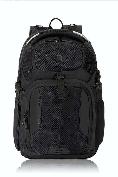 Swissgear 2700 USB Deluxe ScanSmart Laptop Backpack with LED Light - Black
