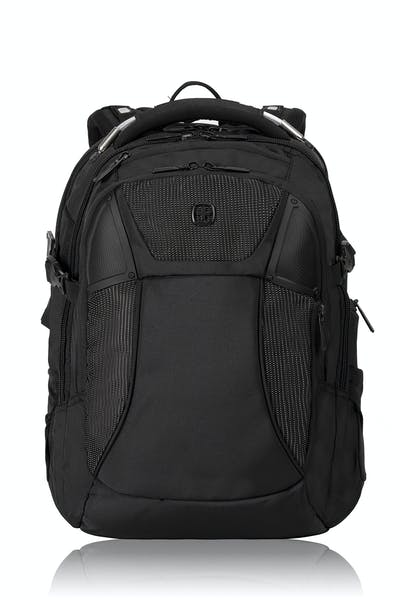 SWISSGEAR 2700 USB Scansmart Backpack with LED Light - Black with White Dots