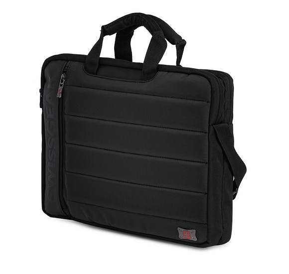 Swissgear Anthem 17 Inch Laptop Slimcase Bag - Black/Gray