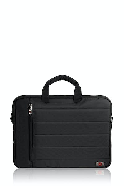 "Swissgear Anthem 17"" Laptop Slimcase Bag - Black/Gray"