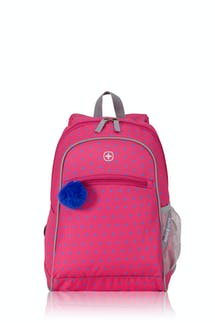 Swissgear 2812 Kids Backpack - Dots Pink/Blue Print