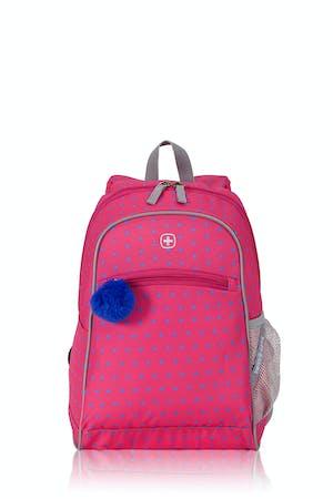 Swissgear 2812 Kids Backpack - Dots Pink/Blue Print