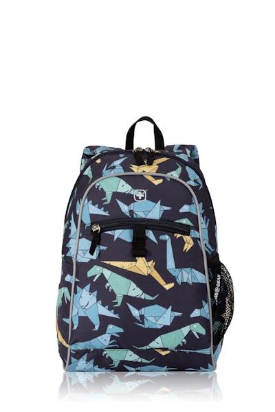 Swissgear 2815 Kids Backpack - Dinosaur Origami Print